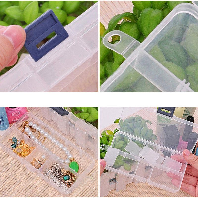 Plastic Jewelry Storage Box Craft Bead
