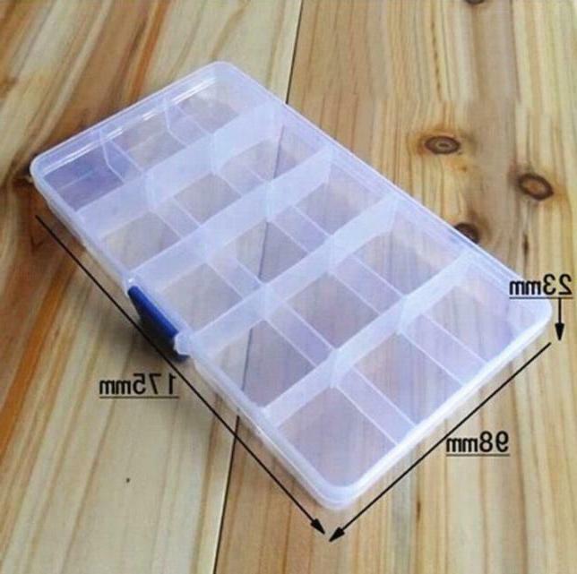 Plastic Adjustable Jewelry Box Craft