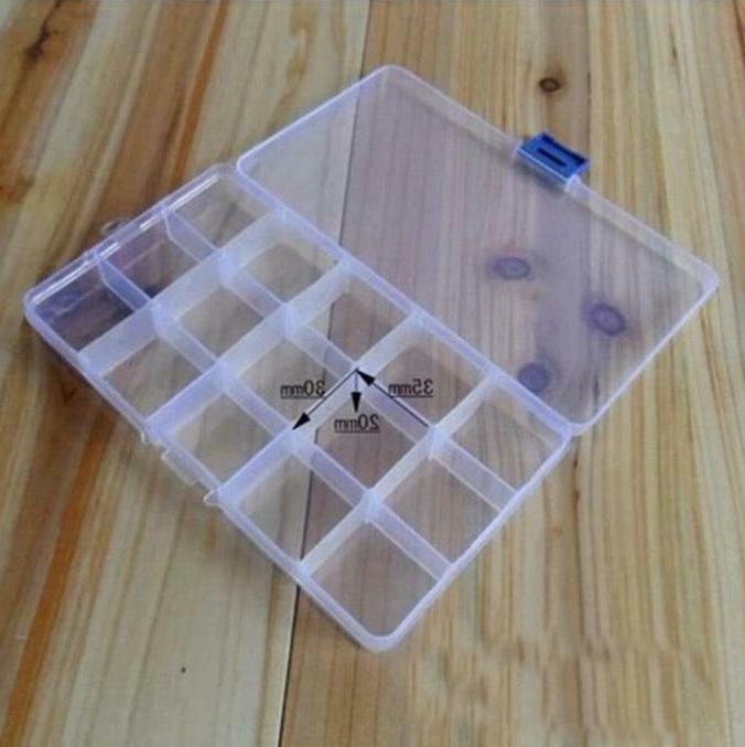 Plastic 15 Jewelry Storage