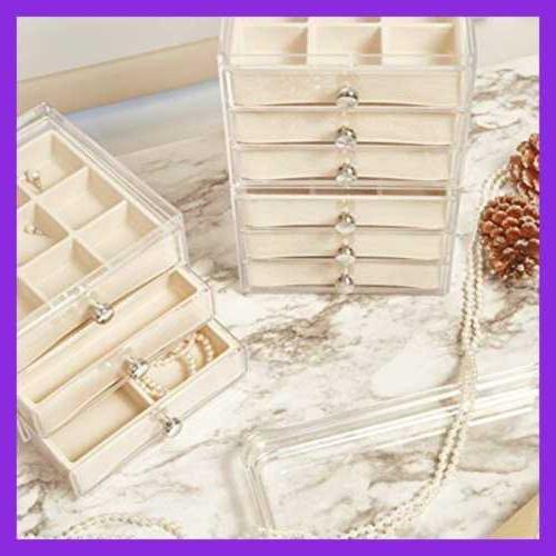 Interdesign Plastic Box Drawers Set For C