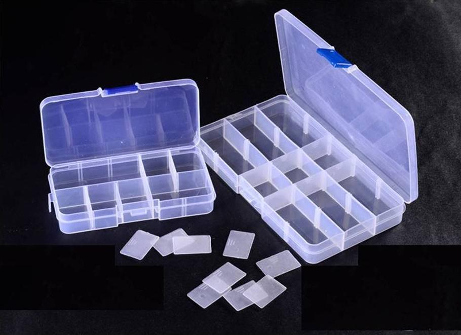 Plastic Adjustable Jewelry Storage Container