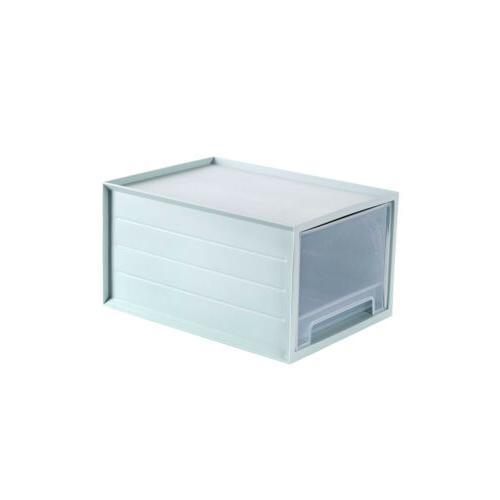 Plastic Clothes Storage Box Cabinet Organizer