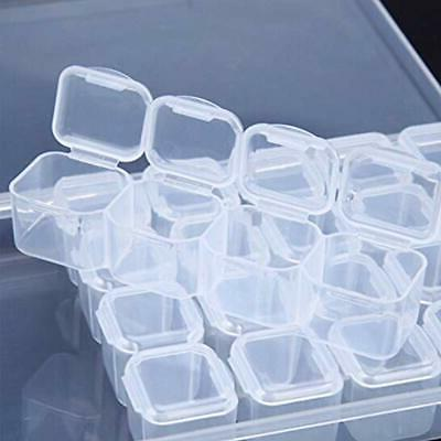 Plastic Sewing Supplies Jewelry Container Box