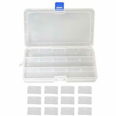 Plastic Craft & Supplies Storage Box Grid