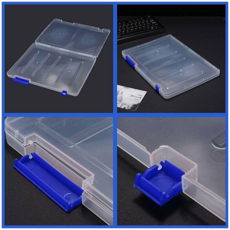 Plastic Desk Paper Letter Size Storage Blue