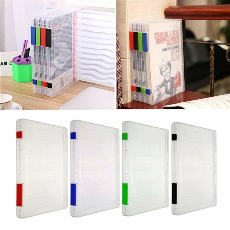 plastic file folder clear desk paper organizers