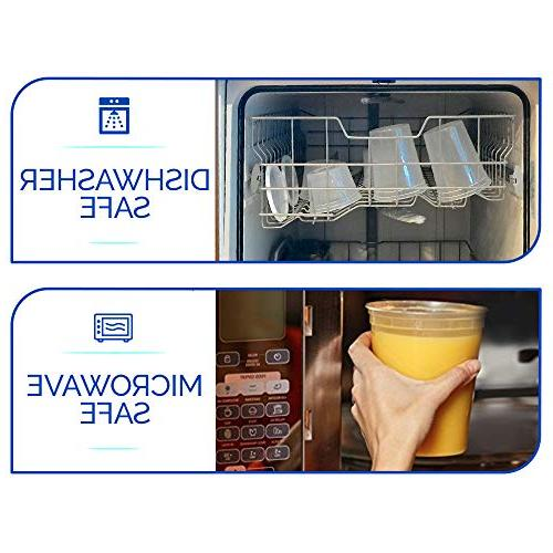 Plastic with - Deli Cups/Great Party Meal and Control - Leakproof and Microwave Takeout Set - Free