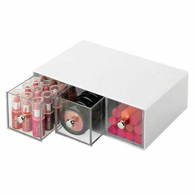mDesign Makeup Drawers