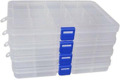 DUOFIRE Plastic Container Storage Box
