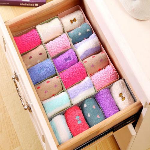 Plastic Organizer Socks Cosmetic Divider