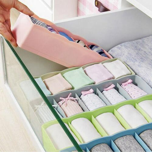 plastic organizer tie bra socks drawer cosmetic