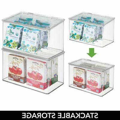 mDesign Plastic Kitchen Lid