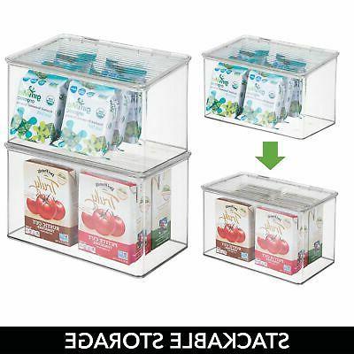 mDesign Plastic Food Lid