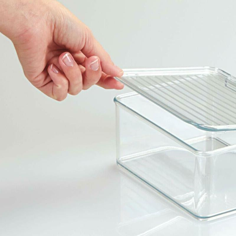 mDesign Plastic Stacking Toy Lid Acti