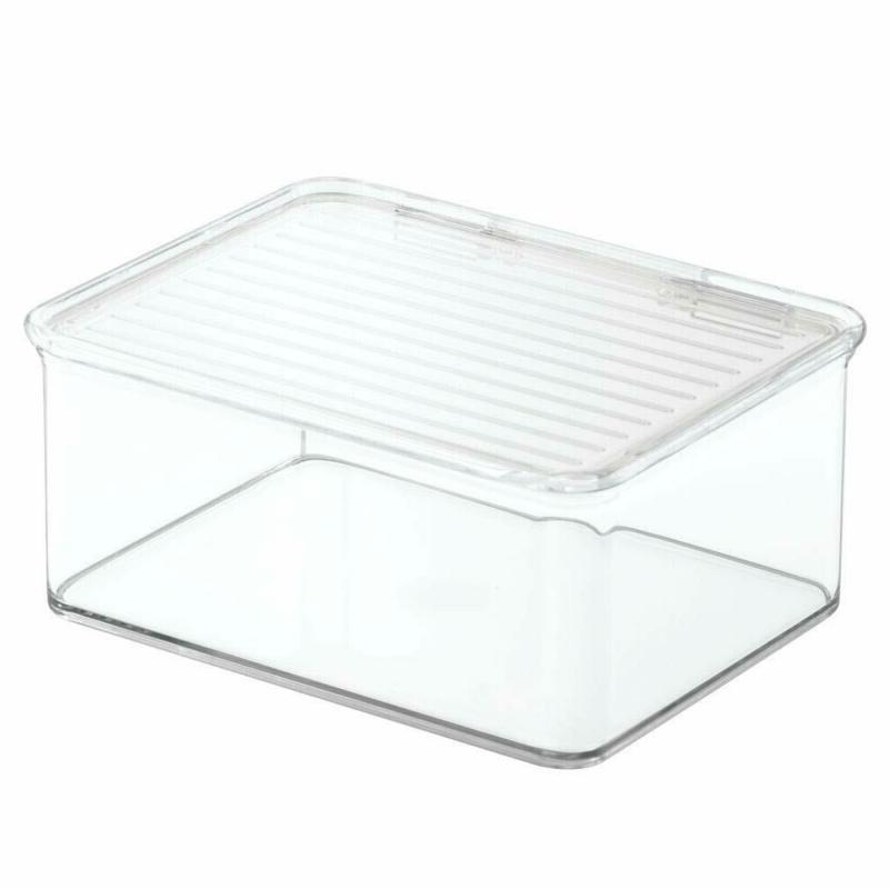 mDesign Toy Box Lid for Storage of Acti