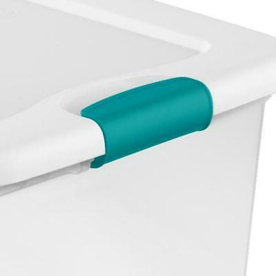 Sterilite 64 Latching Box White of 6