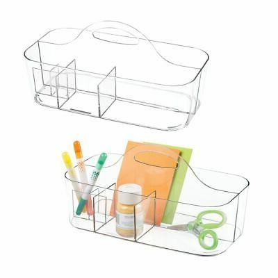 plastic storage caddy tote for sewing