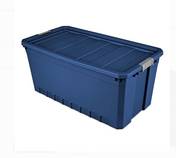 Plastic Storage Blue 50 Bin Box of