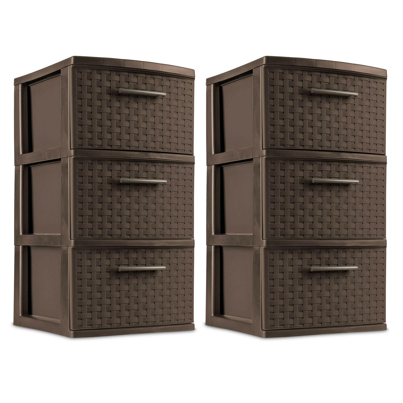 Plastic Storage Drawer Sterilite Organizer Container