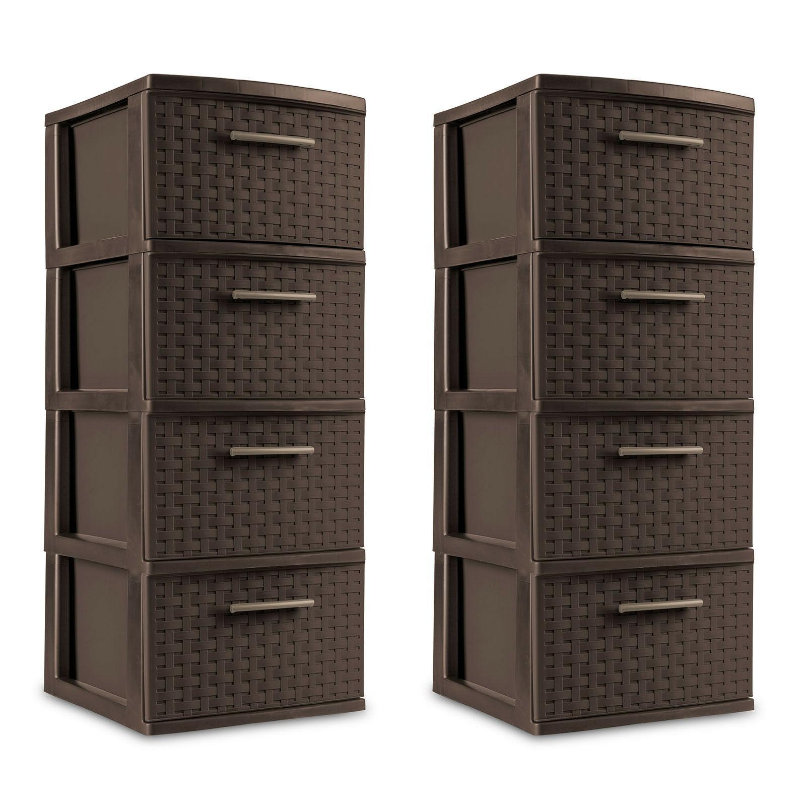 Plastic Storage Drawer Sterilite Cabinet Organizer