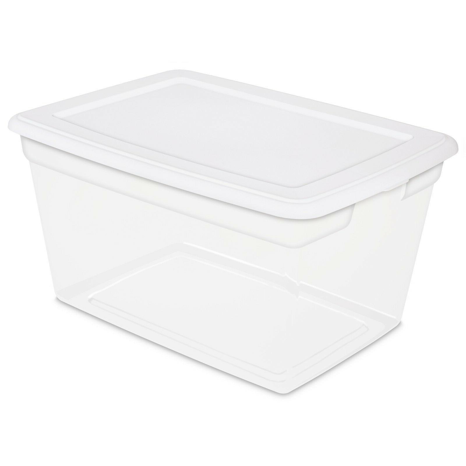 PLASTIC BOX Quart Bin SET
