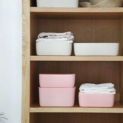 Plastic Underwear Bra Sock Storage Box Closet Organizer Draw