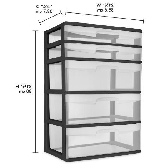 Plastic Drawer Home Office Storage Organizer