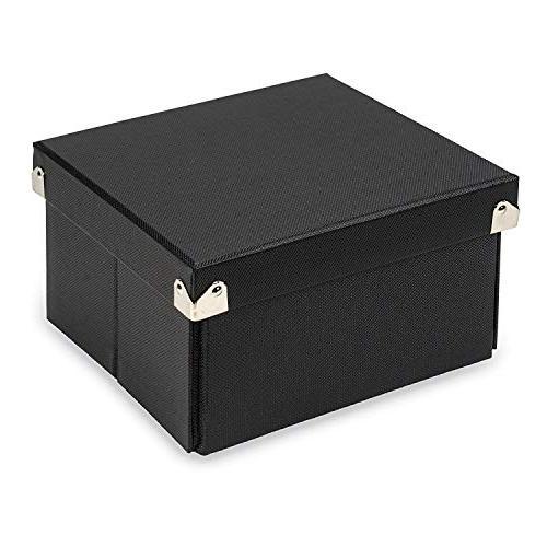 Samsill Pop n' Store Decorative Storage Box with Lid, Coll