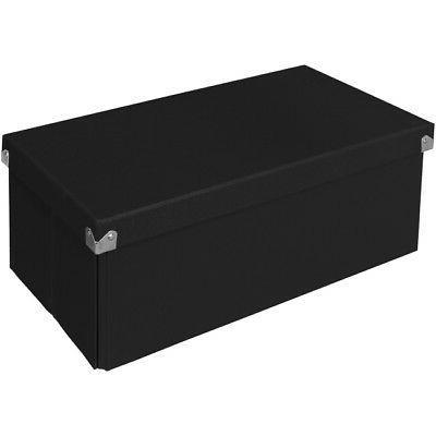 """Pop n' Store Box - Black 15.5""""x6""""x8.25"""