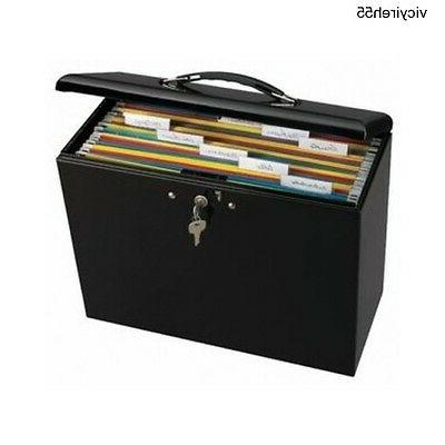 Portable Box Folder Security Steel Office