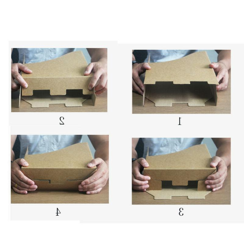 Portable Box Boxes File 5 Pack Storage