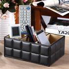 PU Leather Organizer Storage Box Holder Home Desk Tidy For P