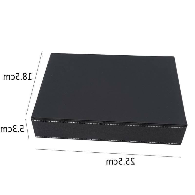PU Office Supplies Stationery Storage Box