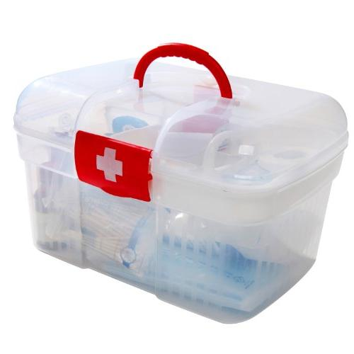 Red First Container Bin Emergency Kit w/ Detachable MyGift