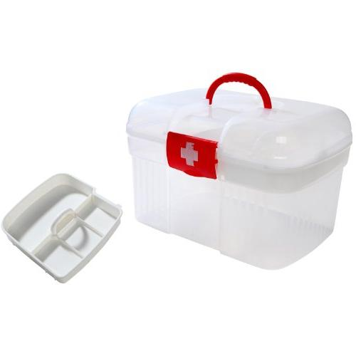 Red First Container / Emergency w/ Tray MyGift