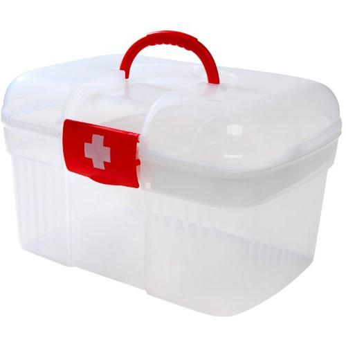 Red Container / Family Emergency Storage w/ Detachable MyGift