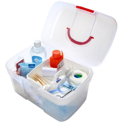 Container Bin / Family Emergency Kit Box w/ Detachable Tray - MyGift