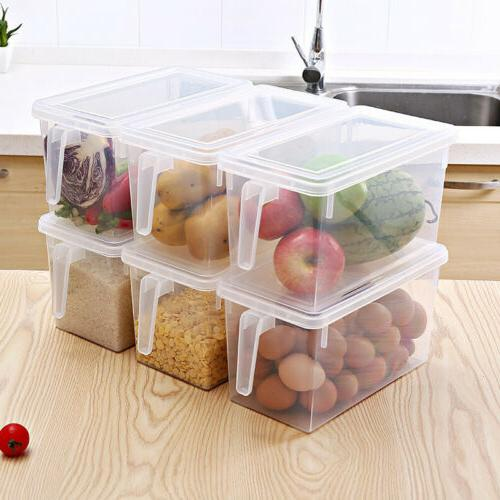 Home Food Storage Collecting Box Basket Kitchen Refrigerator
