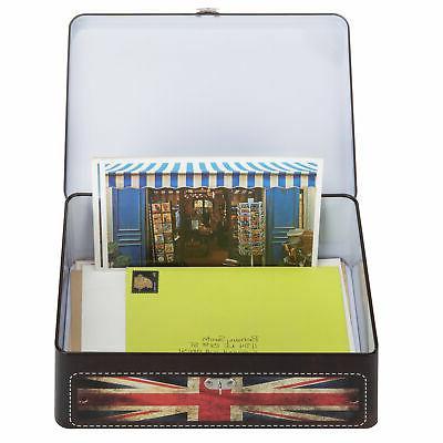 MyGift Style Union Jack Storage with