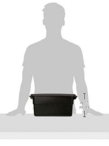 Rubbermaid Box44 3 Gallon Gray