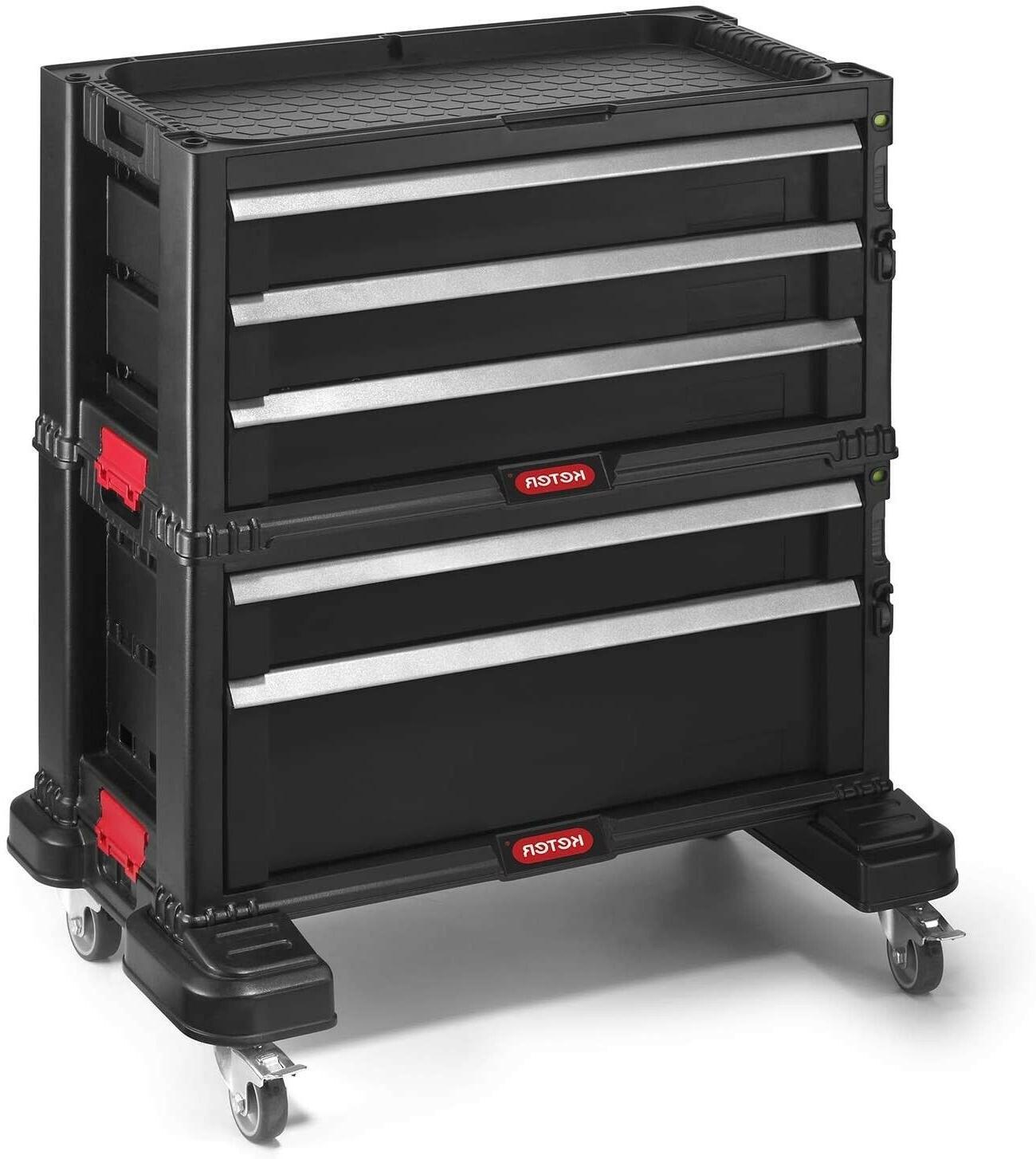 Rolling Box 5-Drawer Cabinet Tools Organizer