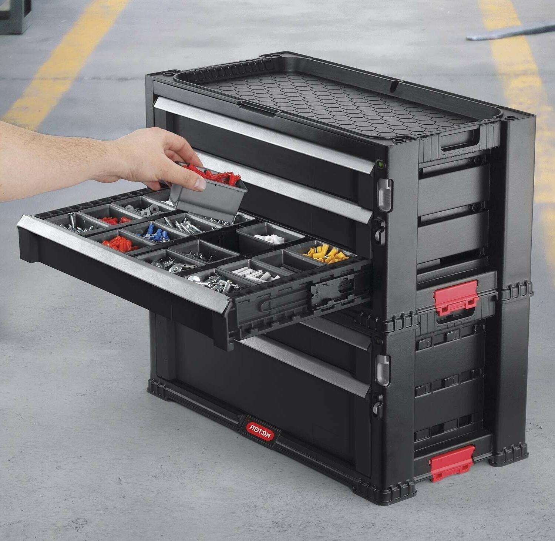 Rolling Chest Box Garage Storage