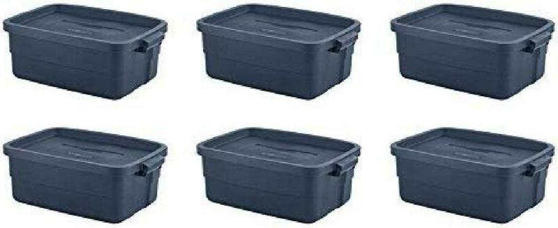 roughneck 3 gallon 6 pack storage dark