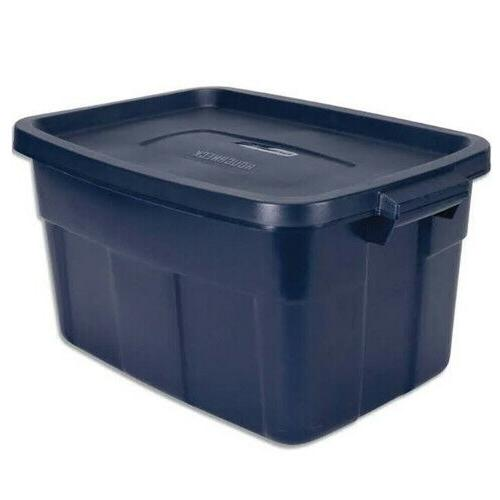 roughneck storage box plastic storage container snap