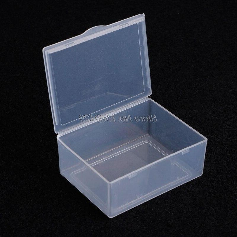 Round Clear Plastic Beads <font><b>Storage</b></font> <font><b>Boxes</b></font> Wholesale&DropShip