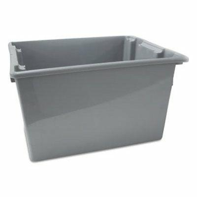 rubbermaid 1732 palletote box gray rcp1732gra
