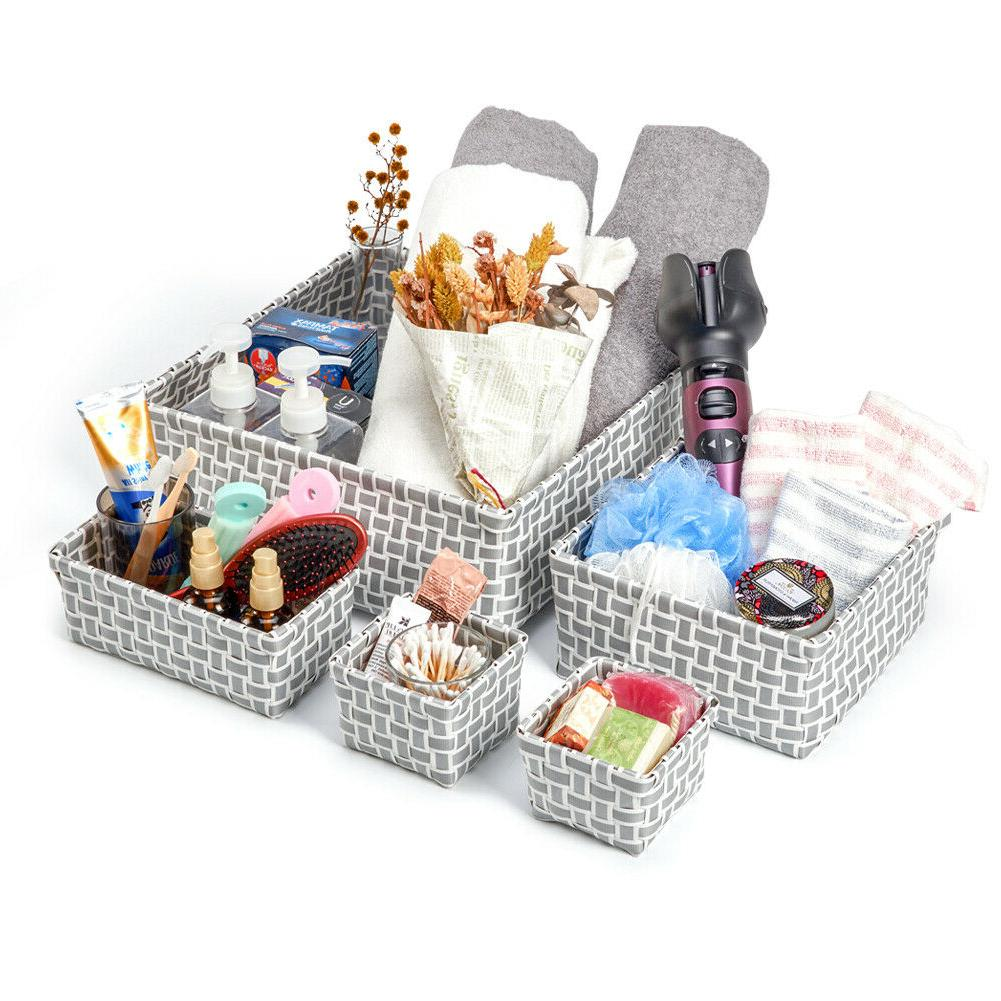 EZOWare Toy Basket Woven Box
