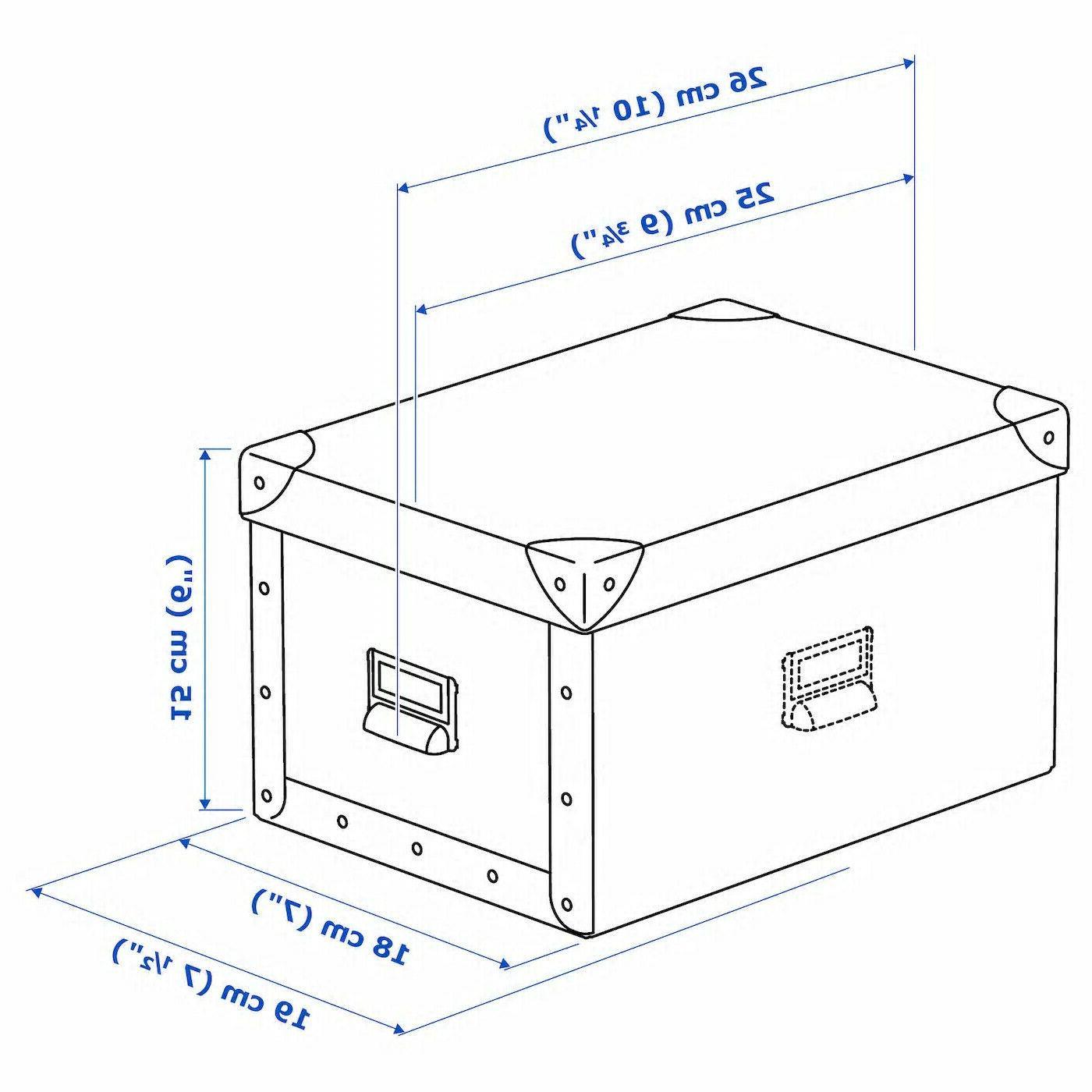 """Set Ikea Storage w/Lid Decor x 6"""""""
