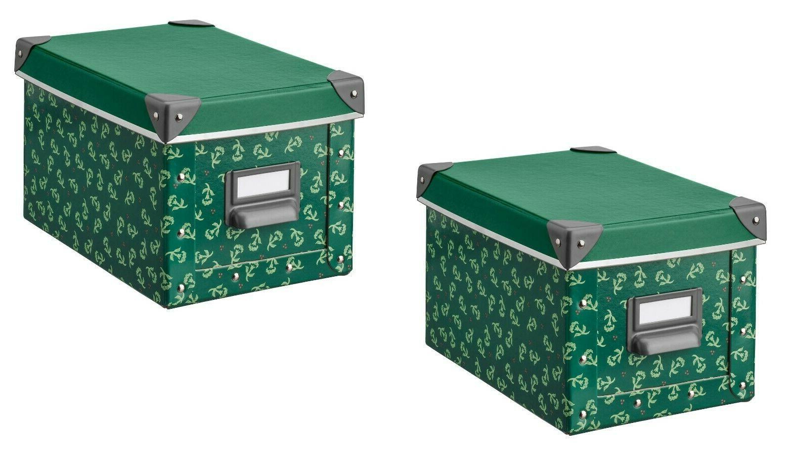 set of 2 fjalla storage box w