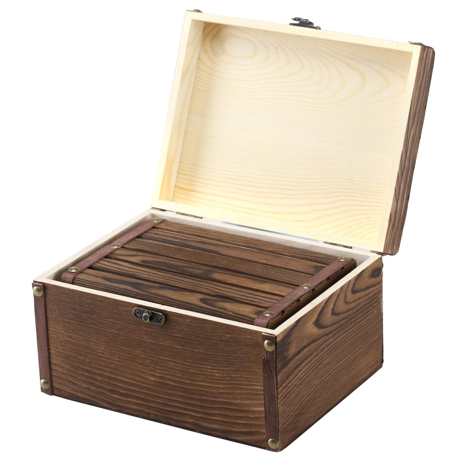 Set Style Wood Decorative Boxes, & Trinket Storage